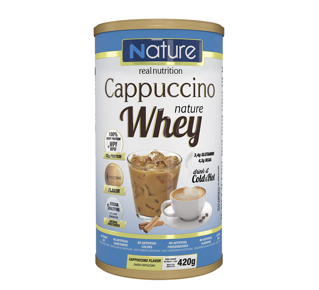 Cappuccino Nature Whey
